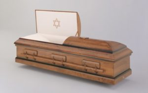 image of orthodox casket